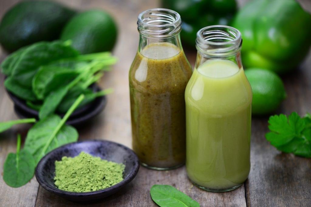 Gemüsesaft gegen Parodontitis